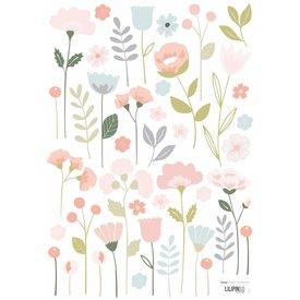Lilipinso Lilipinso muursticker romantische bloemen