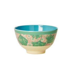 rice Denmark Rice melamine schaaltje bloemen Leaves and Flower
