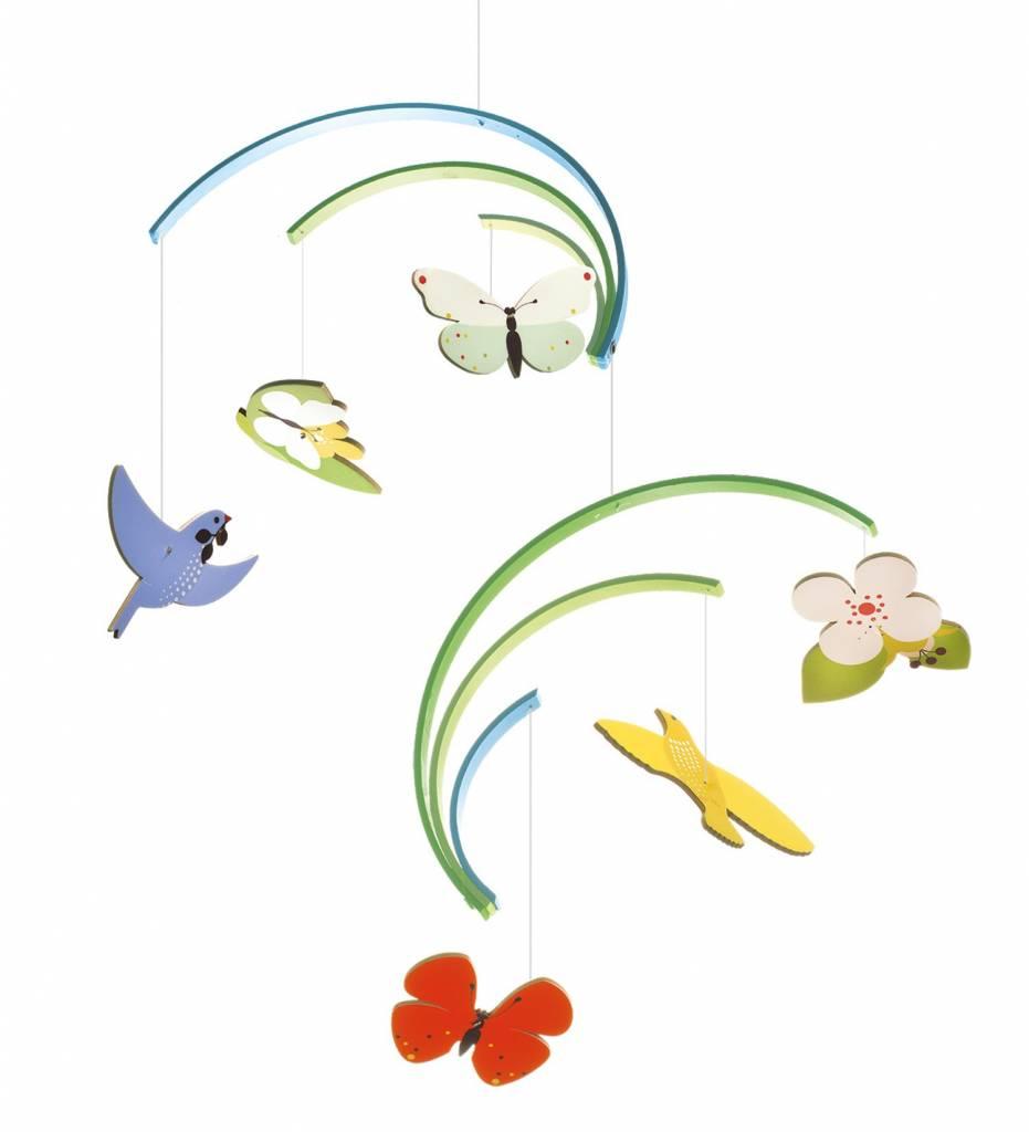 Djeco Mobiel Babykamer Vogels En Vlinders Printemps