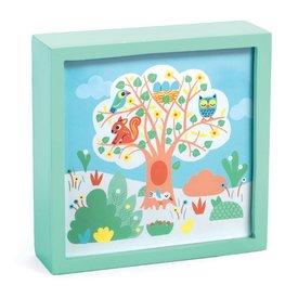 Djeco Djeco nachtlampje schilderij  boom