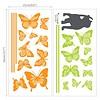 Decowall muursticker poes en vlinders