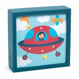 Djeco Djeco nachtlampje schilderij  Polo Space