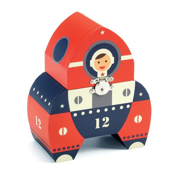 Djeco Djeco muziekdoosje raket Polo Space