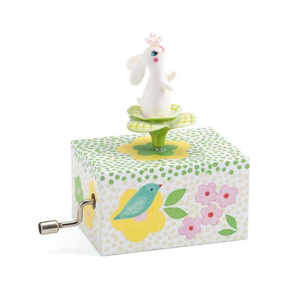 Djeco Djeco mini muziekdoosje konijn