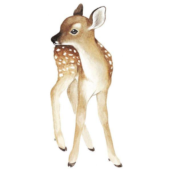Lilipinso Lilipinso muursticker hertje vintage Oh Deer