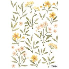 Lilipinso Lilipinso muursticker bloemen en blaadjes