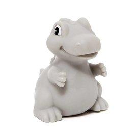 Petit Monkey Petit Monkey nachtlampje dino T-Rex grijs