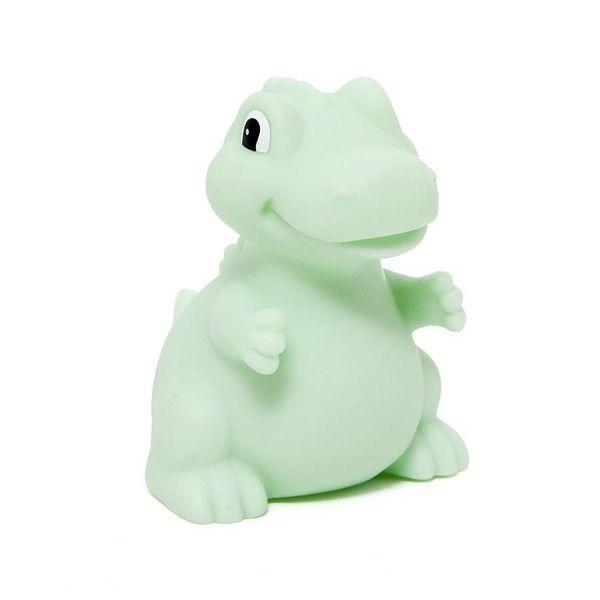 Petit Monkey Petit Monkey nachtlampje dino T-Rex mint