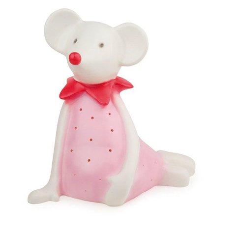 Figuurlamp muis Twiggy roze