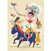 Petit Monkey poster Pretty Little Rider 50 cm x 70  cm