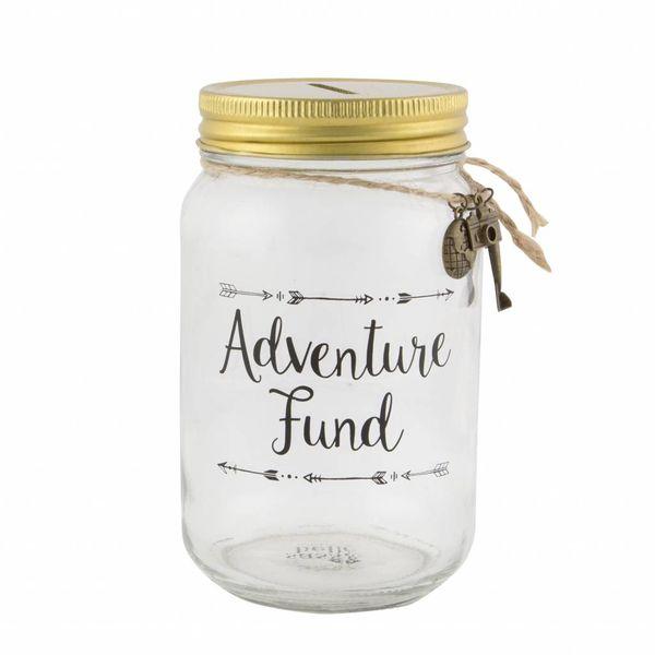 Sass & Belle Sass & Belle spaarpot Adventure Fund