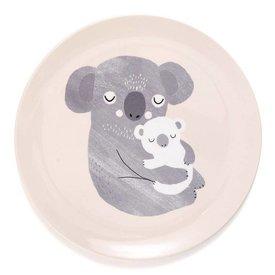 Petit Monkey Petit Monkey melamine bord koala roze