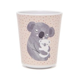 Petit Monkey Petit Monkey melamine beker koala beer