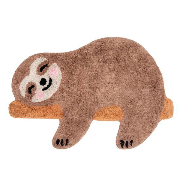 Sass & Belle Sass & Belle vloerkleedje luiaard Happy Sloth mini