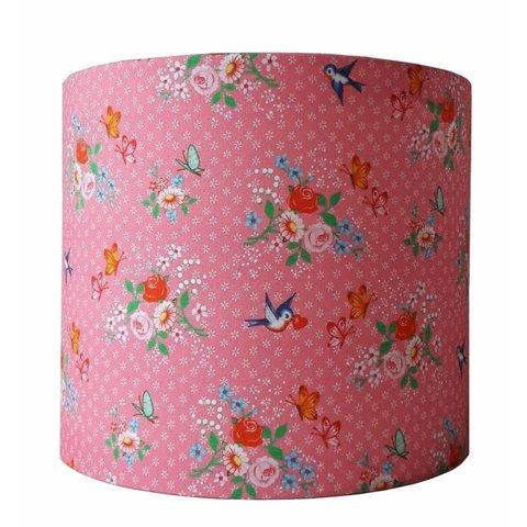 Designed4kids wandlamp vogels Sweet Birds roze