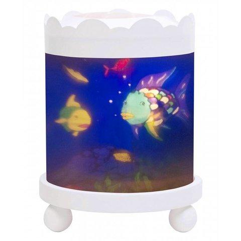 Trousselier magische lamp mooiste visje rond wit