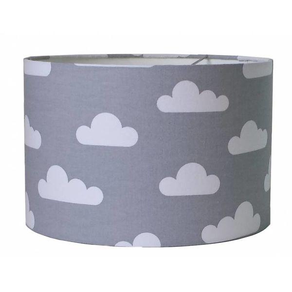Designed4Kids Designed4Kids kinderlamp wolken grijs