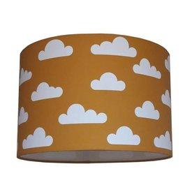 Designed4Kids Designed4Kids kinderlamp wolken oker geel