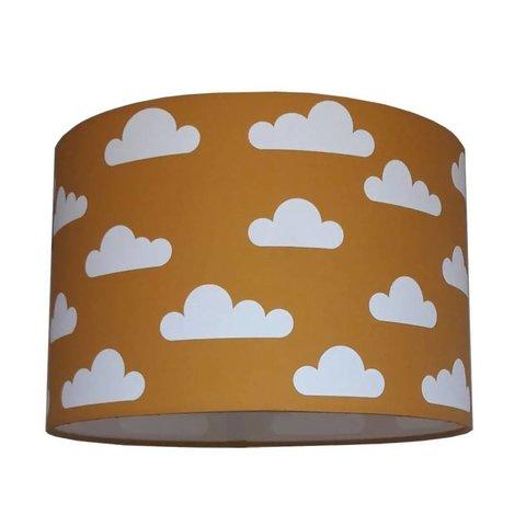 Designed4Kids kinderlamp wolken oker geel