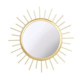 Sass & Belle Sass & Belle spiegel zon goud