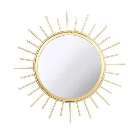 Sass & Belle spiegel zon goud