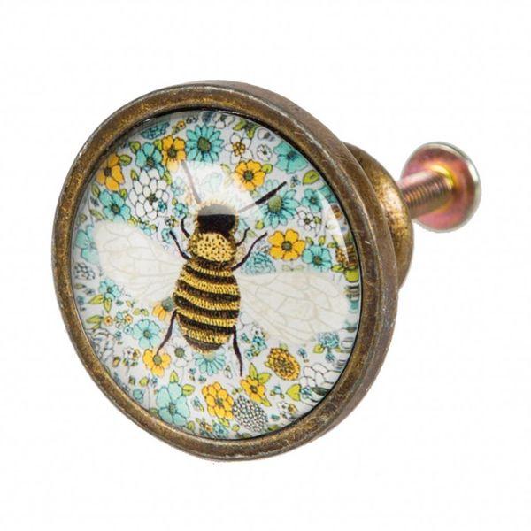 Sass & Belle Sass en Belle deurknop bij  Summer Floral Bee
