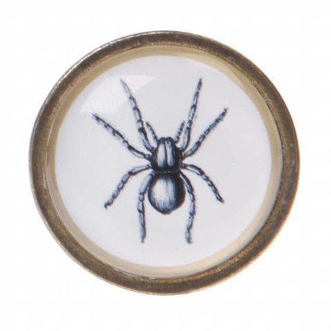 Sass en Belle kastknop spin monochroom