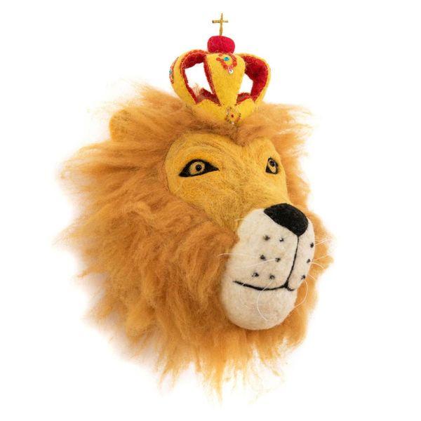 Sew Heart Felt Sew Heart Felt dierenkop leeuw Prince Leopold
