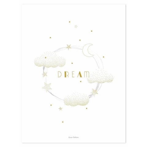 Lilipinso poster wolkjes Dream