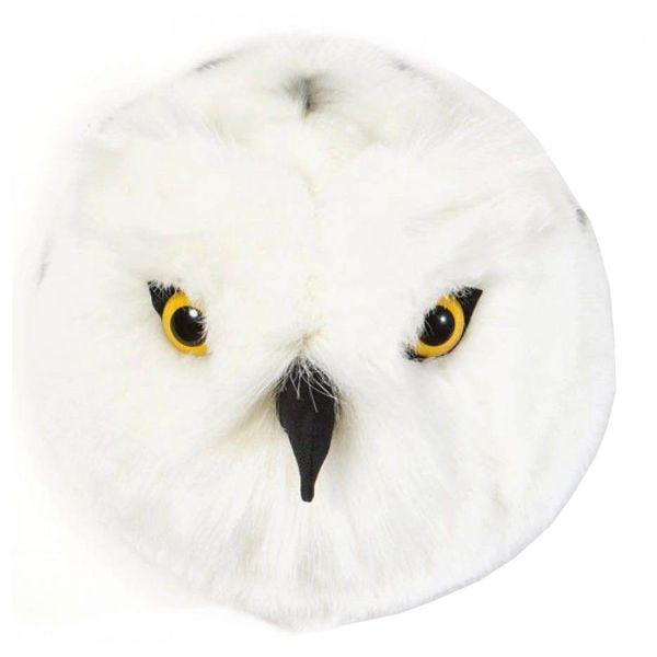 Wild & Soft Wild & Soft dierenkop pluche sneeuwuil