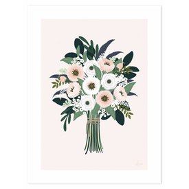 Lilipinso Lilipinso poster bloemen boeket