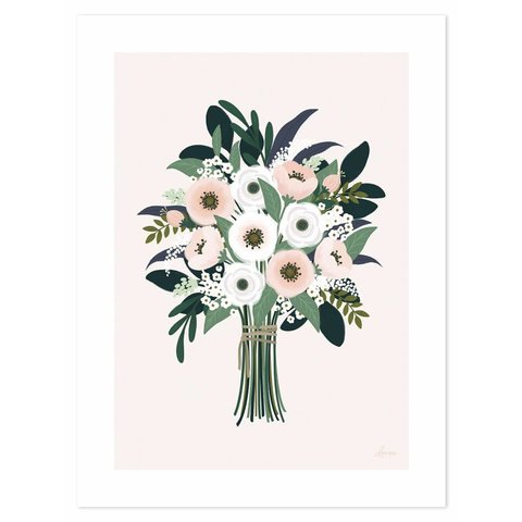 Lilipinso poster bloemen boeket