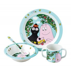 Petit Jour Paris Petit Jour Paris  kinderservies barbapapa buiten