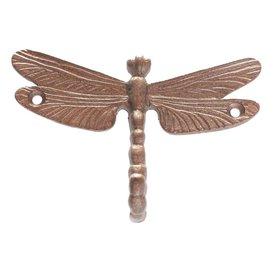 La Finesse La Finesse wandhaakje libelle brons