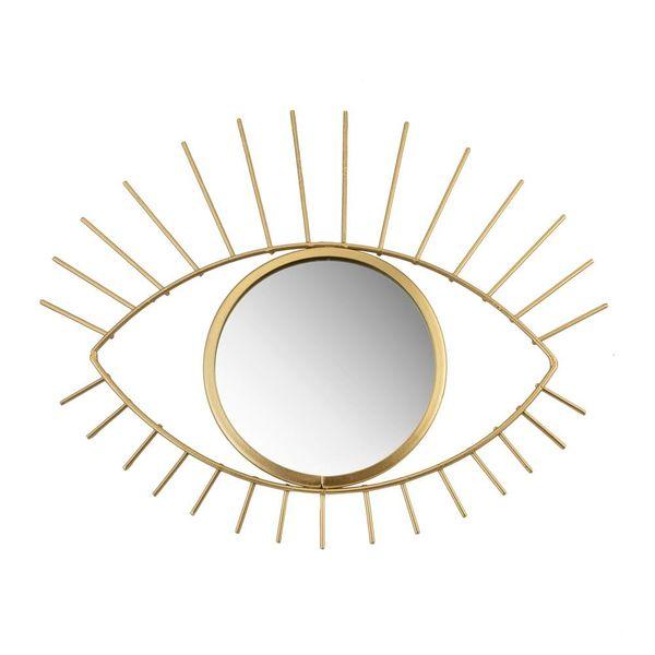 Sass & Belle Sass & Belle spiegel oog goud Tribal Eye