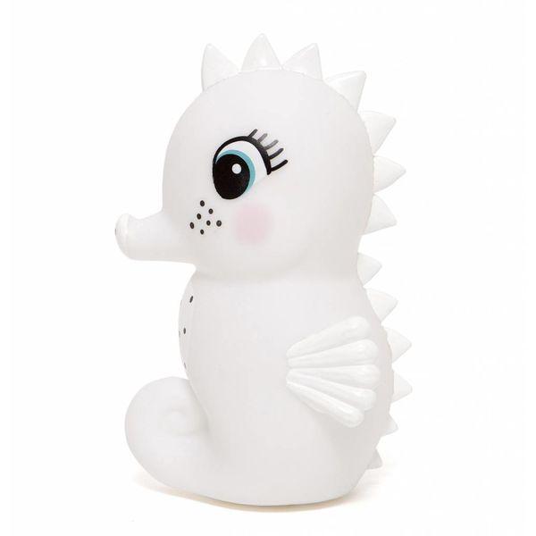 Petit Monkey Petit Monkey nachtlampje zeepaardje wit