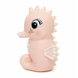 Petit Monkey Petit Monkey nachtlampje zeepaardje roze