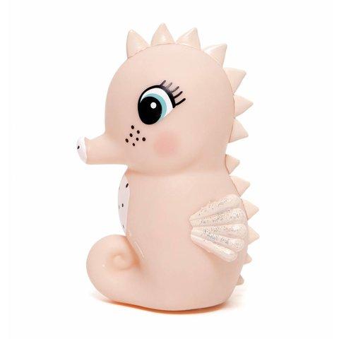 Petit Monkey nachtlampje zeepaardje roze