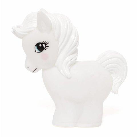 Petit Monkey nachtlampje paard wit