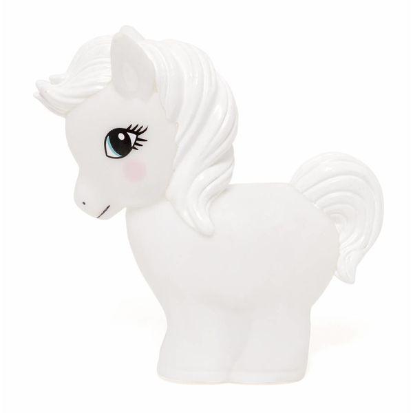 Petit Monkey Petit Monkey nachtlampje paard wit