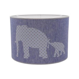 Juul Design Juul Design hanglamp olifantjes blauw