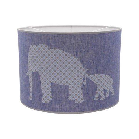 Juul Design hanglamp olifantjes blauw