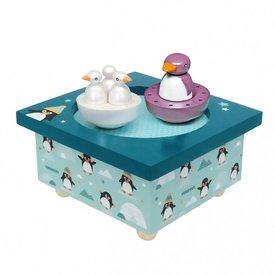 Trousselier Trousselier muziekdoos dansende pinguins