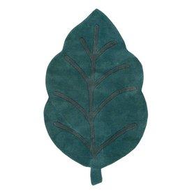 Lilipinso Lilipinso kindervloerkleed blad groen
