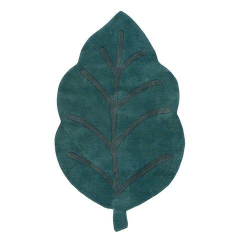 Lilipinso kindervloerkleed blad groen