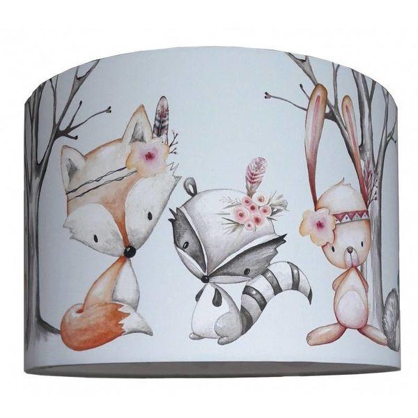 Designed4Kids Designed4Kids kinderlamp bosdieren Forest Friends Boho