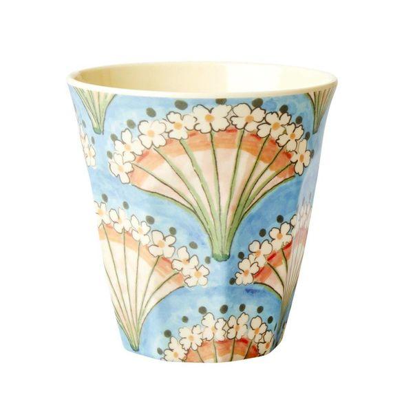 rice Denmark Rice melamine beker bloemen waaier Flower Fan print
