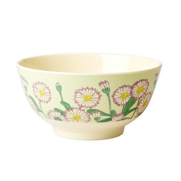 rice Denmark Rice melamine kom bloemen Daisy print