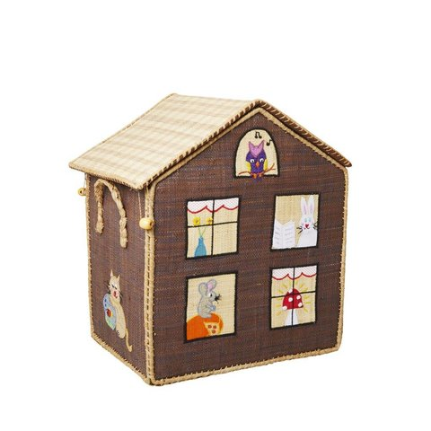 Rice speelgoedmand Jungle House huisdieren