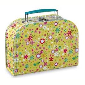 mini labo Mini labo koffertje bloemen en vogels geel